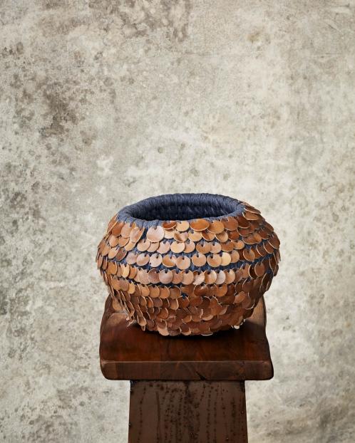 """Combo""Leather Pot"