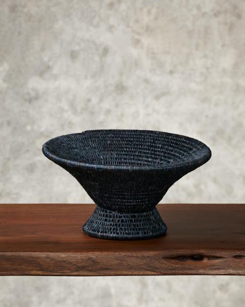 """Cone"" woven basket"