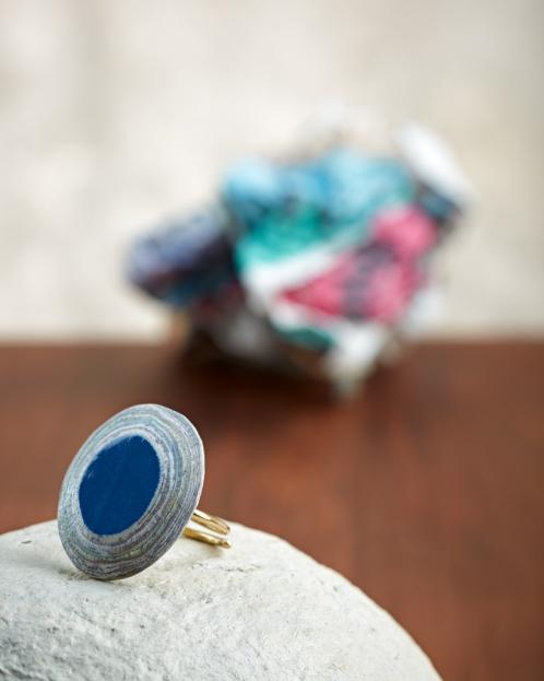 Δαχτυλίδι από ανακυκλωμένο χαρτί