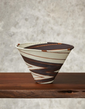 """Sahara""Telephone Wire Bowl"