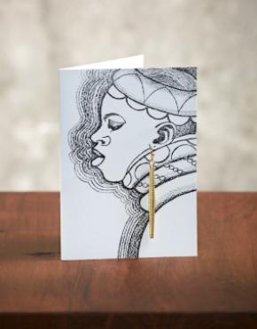 Σκουλαρίκια από ανακυκλωμένο χαρτί