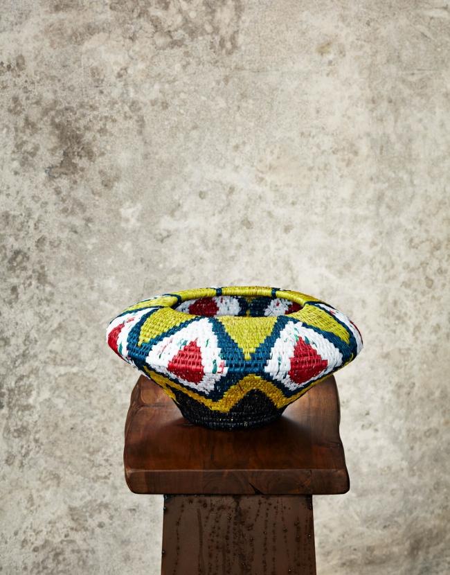 """Ethnic""Recycled Vase"