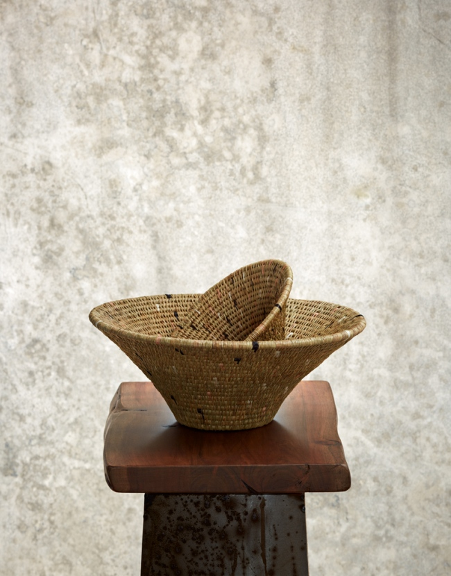 """All Natural"" Woven Basket"